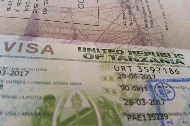 Visado para Tanzania. Manifiesto del Viajero Responsable
