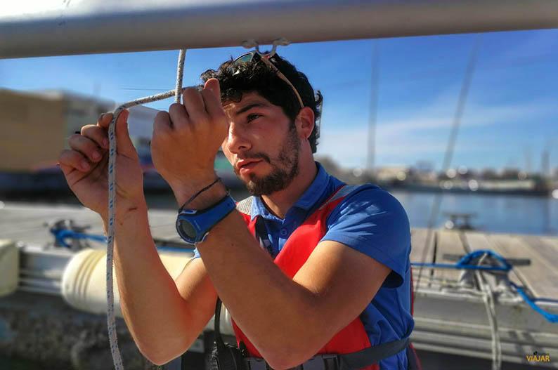 Navegar a vela en el Mar Menor