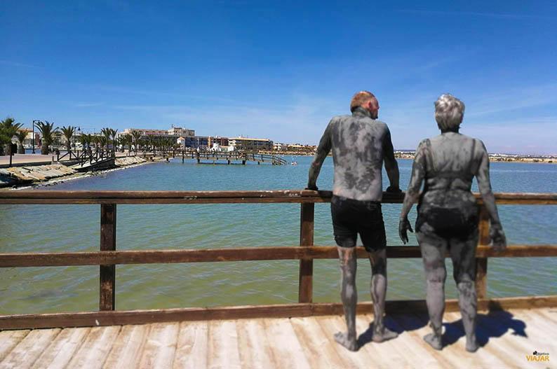 Lodos en la playa de la Mota. Que ver en el Mar Menor
