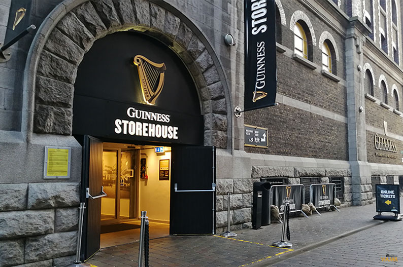 Guinness Storehouse. Que ver en Dublin