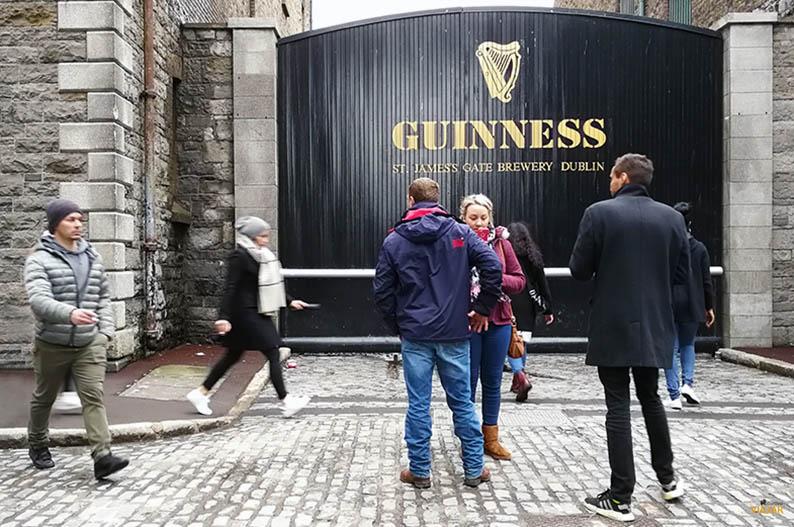 Guinness Storehouse de Dublin