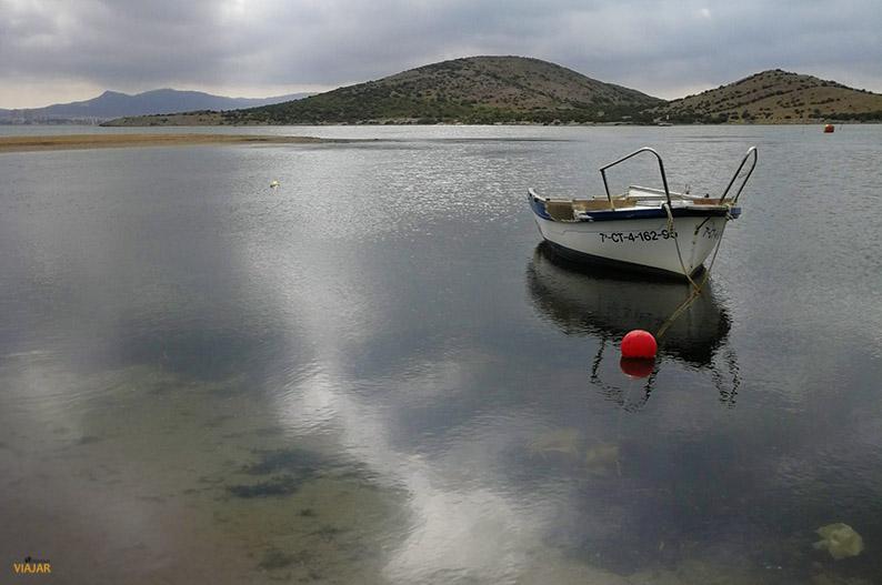 Playa Isla del Ciervo. Que ver en el Mar Menor