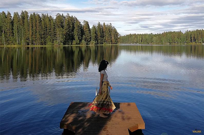 El verano de tu vida. Region de los Mil Lagos de Finlandia