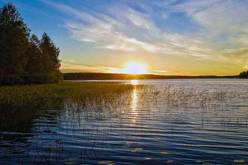 La Region de los Mil Lagos de Finlandia