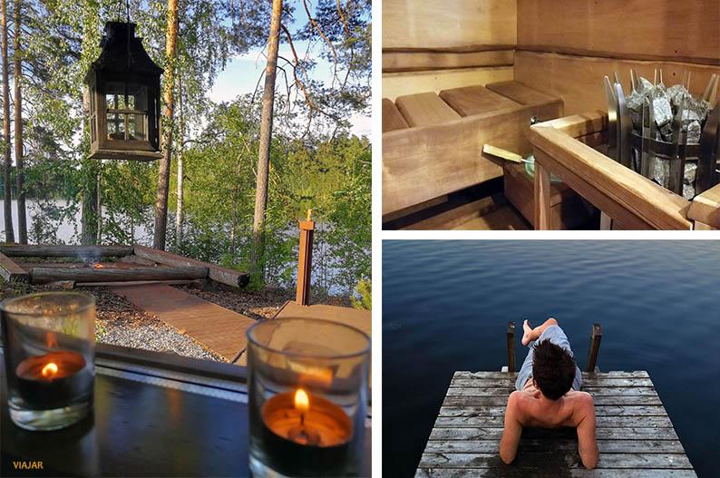 La sauna, una experiencia cien por cien finlandesa
