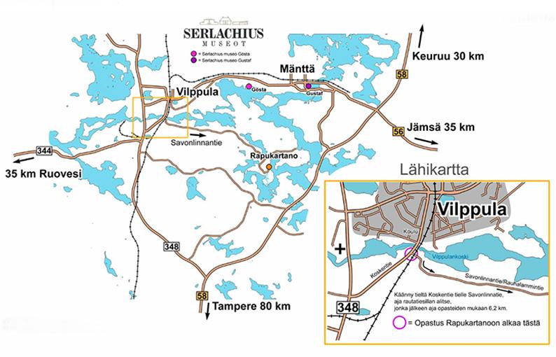 Mapa de Rapukartano