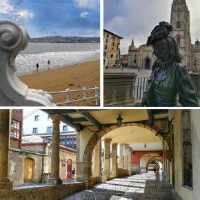 Oviedo, Avilés y Gijón: las tres princesas de Asturias