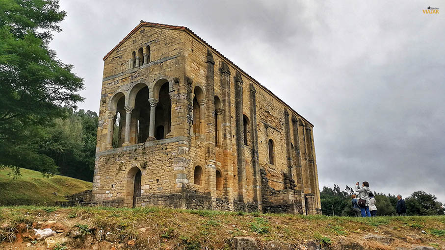 Santa Maria del Naranco. Oviedo, Asturias