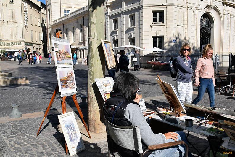 Callejeando por Avignon. Francia