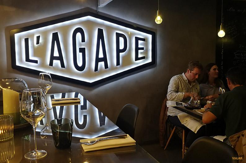 L' Agape. Avignon. Francia