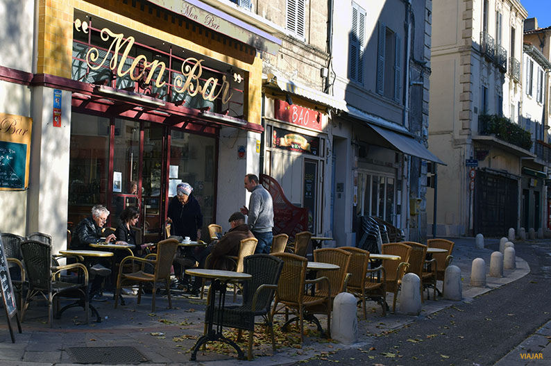 Mon Bar. Avignon. Francia