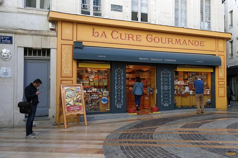 Place du Change. Avignon. Francia