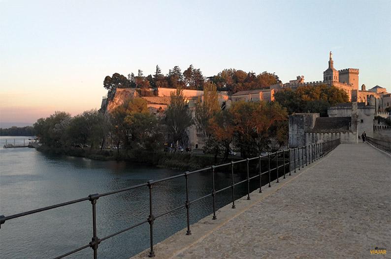 Puente de Avignon. Francia