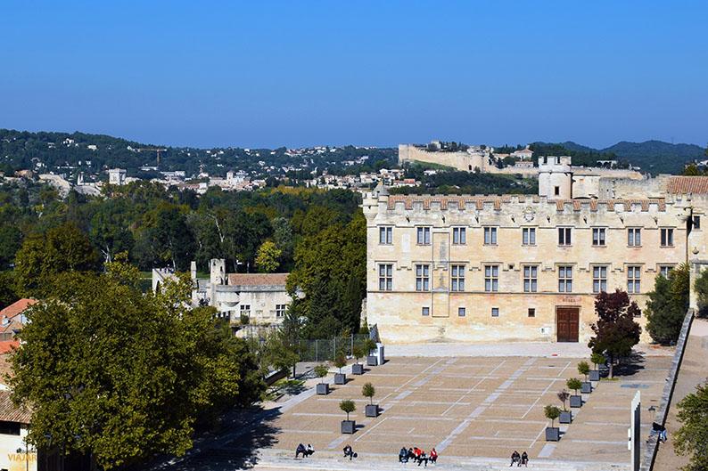 Vistas del Petit Palais desde el Palacio de los Papas. Avignon