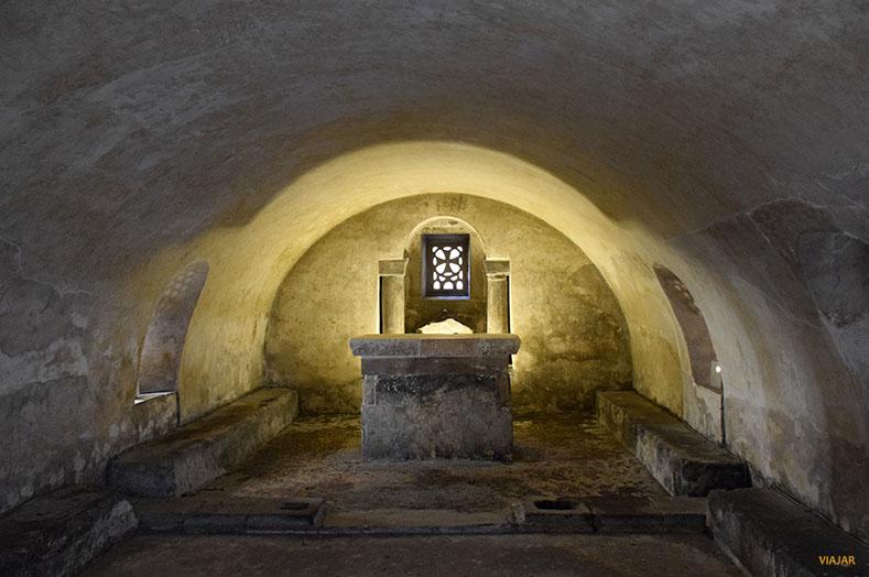 Cripta de Santa Leocadia. Catedral de Oviedo