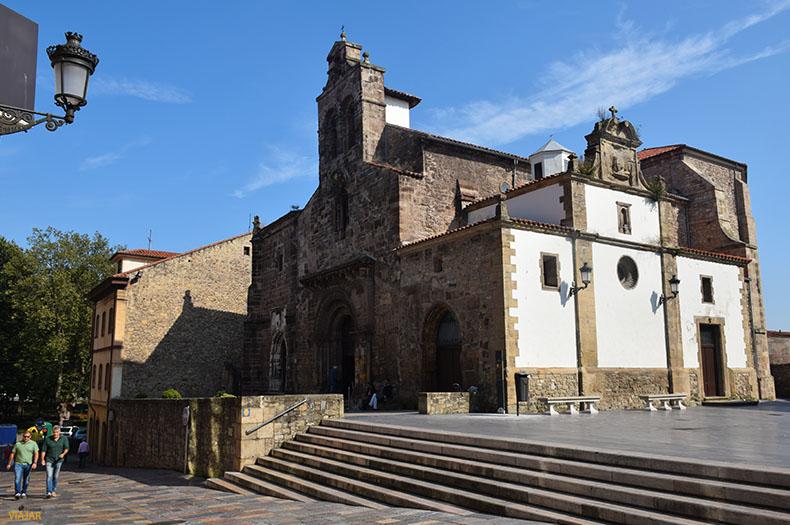 Iglesia de los Padres Franciscanos. Que ver en Aviles
