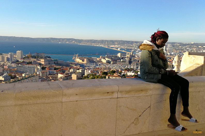 La vibrante y seductora Marsella desde Notre-Dame de la Garde