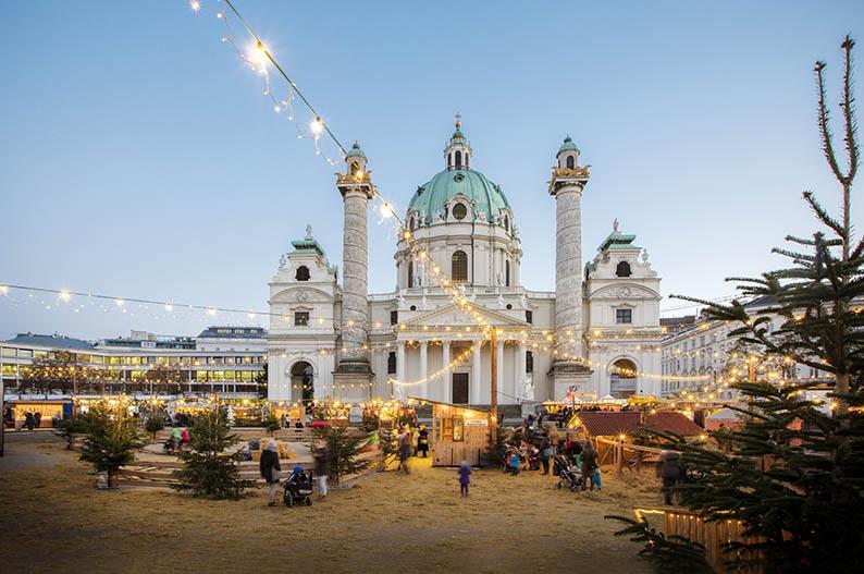 Mercadillo de Navidad en Viena © Österreich Werbung, Harald Eisenberger