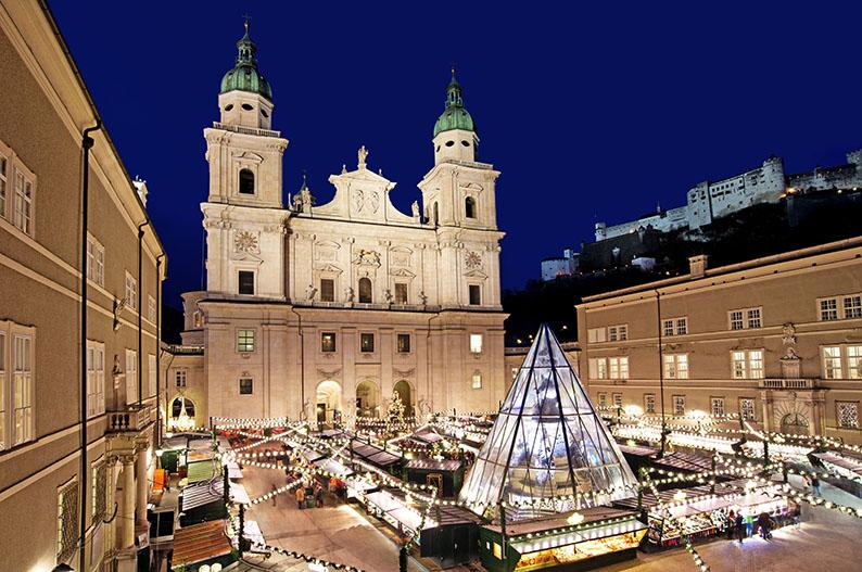 Mercado de Navidad de Salzburgo © SalzburgerLand-Tourismus GmbH