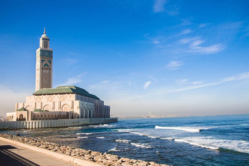 Mezquita de Hassan II. Casablanca, Marruecos. Los mejores destinos para 2019