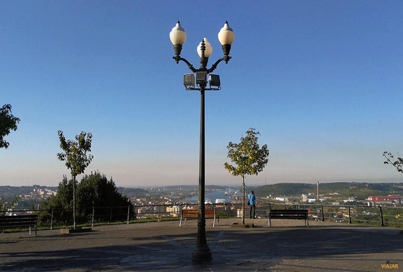 Mirador del barrio de La Luz. Aviles
