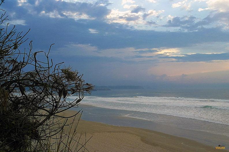 Playa de Salinas. Asturias