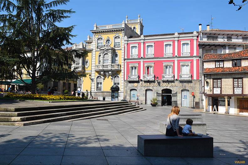 Plaza Alvarez Acebal, Aviles. Asturias