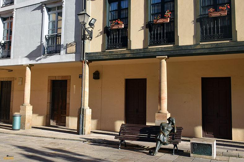 Plaza del Fontan. Oviedo