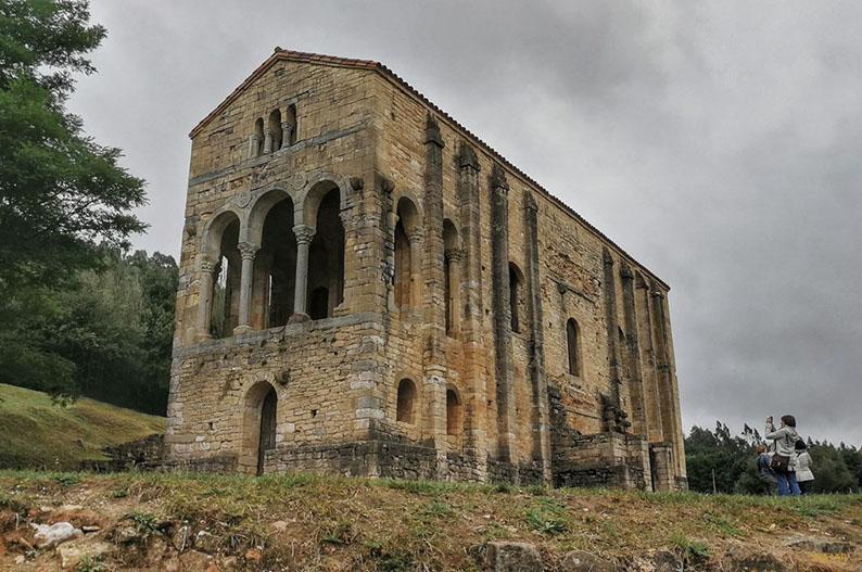 Santa Maria del Naranco. Oviedo. Oferta cultural de Oviedo
