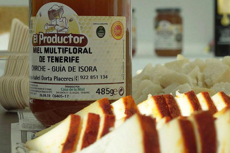 Miel. Gastronomia de Tenerife