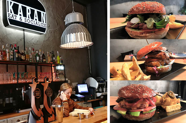 Karan Eat & Socialize. Donde comer hamburguesas en Gijon.