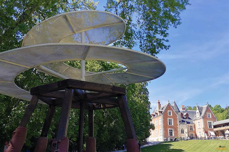 Clos Luce, un verano ideal en el Valle del Loira