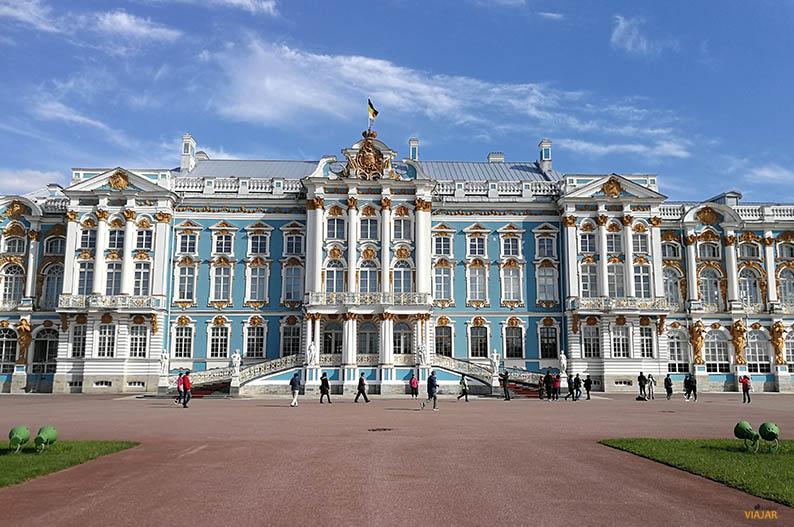 Palacio de Catalina, San Petersburgo. Destinos para un verano perfecto
