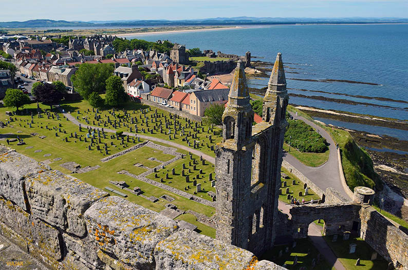 Saint Andrews, Escocia. Destinos para un verano perfecto