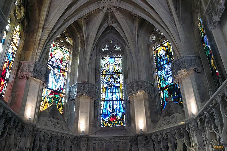 Capilla de Saint-Hubert. Castillo de Amboise. Valle del Loira