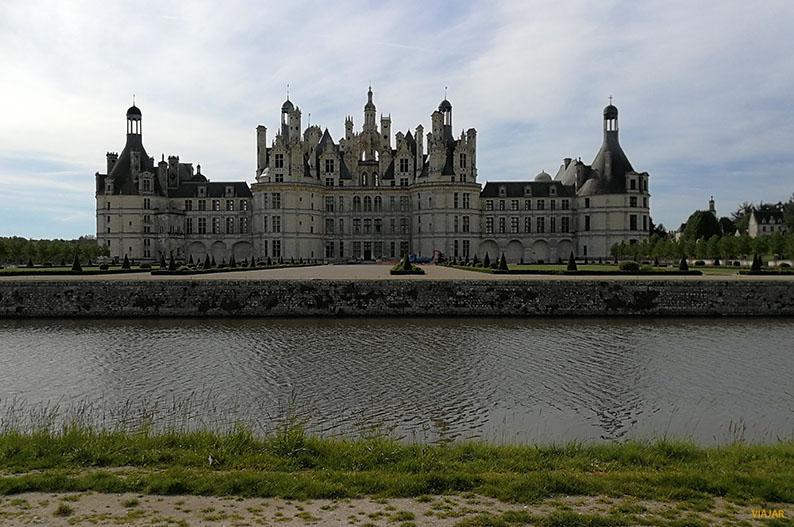Castillo de Chambord. Valle del Loira