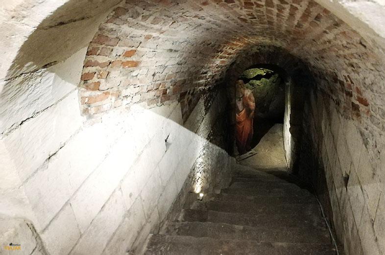 Pasadizo secreto de Clos Luce. Valle del Loira