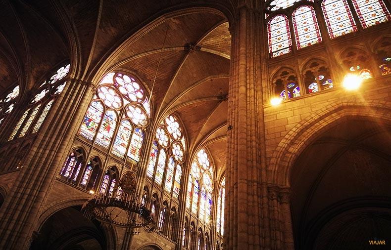 Basilica de Saint-Denis. Que ver en Saint-Denis