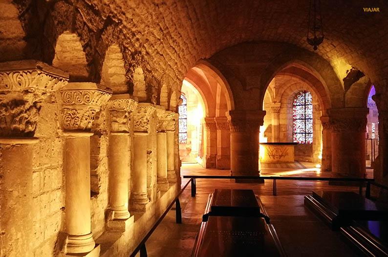 Cripta de la Basilica de Saint-Denis. Paris