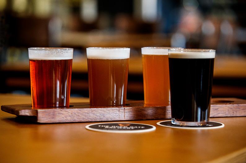 Cata de cervezas en la Guinness Open Gate Brewery de Dublin