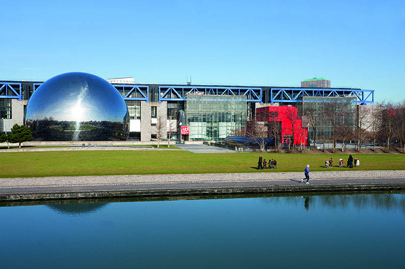 Ciudad de las Ciencias y la Industria © Paris Tourist Office. Fotografo Jacques Lebar