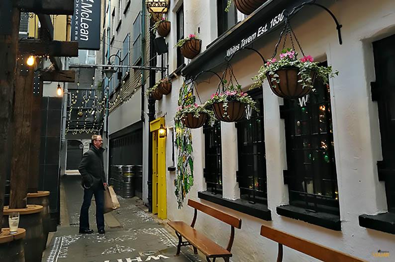 Whites Tavern, un clasico de Belfast