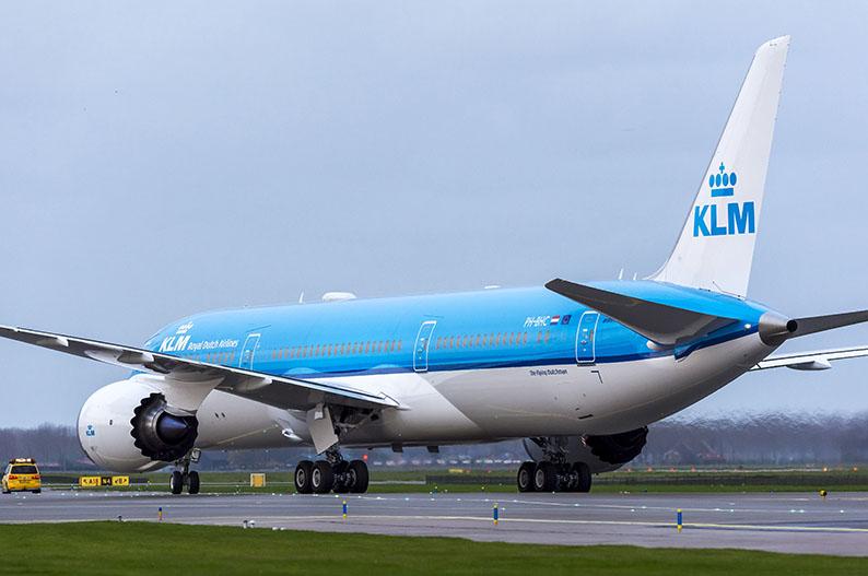 KLM es una de las aerolineas mas sostenibles del mundo