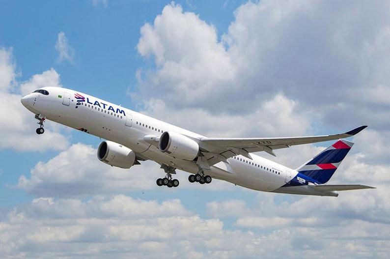 LATAM, una de las tres aerolineas mas sostenibles