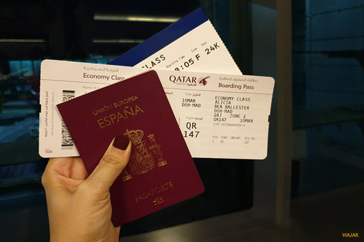 Pasaporte. Viajar a Sri Lanka
