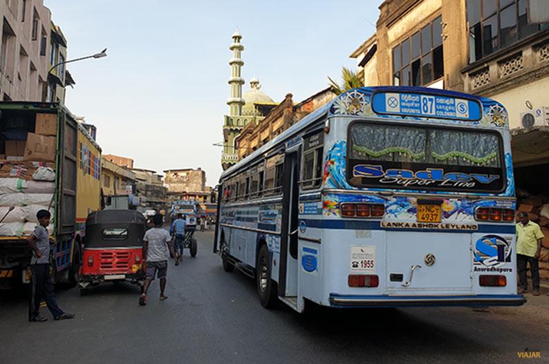 Autobus en Colombo