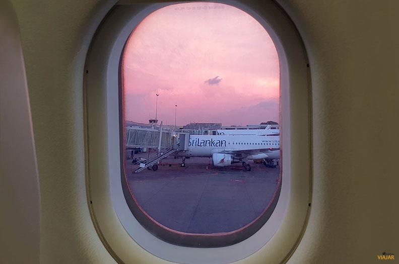 Volar a Sri Lanka