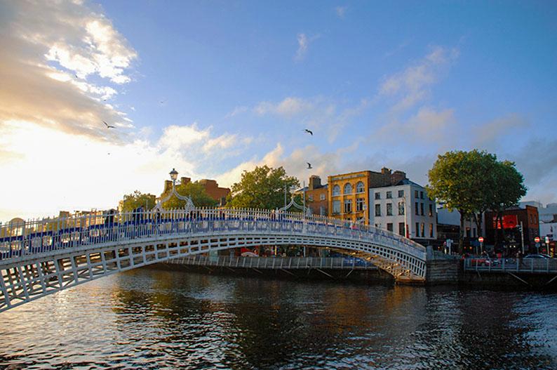 Dublin, uno de los escenarios de Normal People