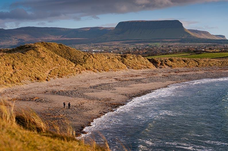 Streedagh Beach, uno de los . escenarios de Irlanda donde se rodó Normal People