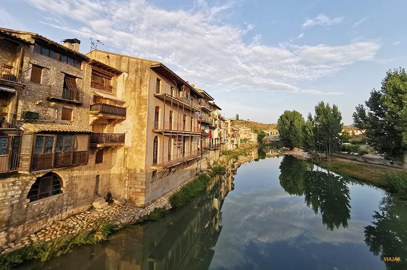Valderrobres y el rio Matarraña